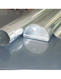 Csatorna Alumínium 2fm