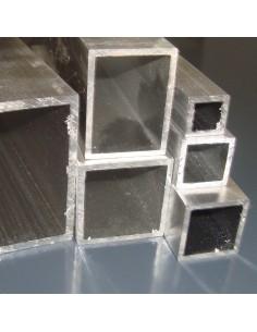 Alumínium zártszelvény 40x20x3