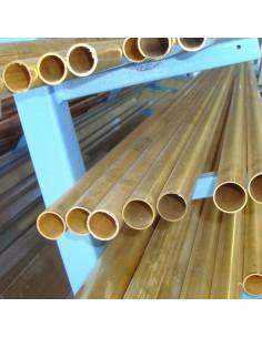 Sárgaréz cső 20mmx1,5mm