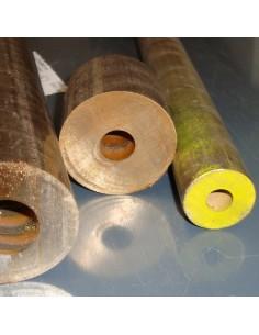 Bronz cső 41mmx29mm